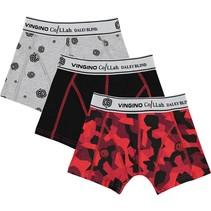 Daley Blind boxershorts 3-pack deep black