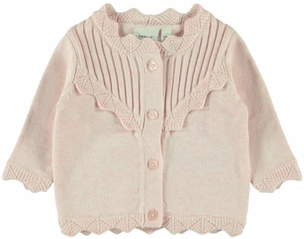 Name It Name It vest Tilde strawberry cream