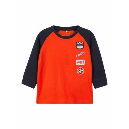 Name It Name It longsleeve Tekke cherry tomato