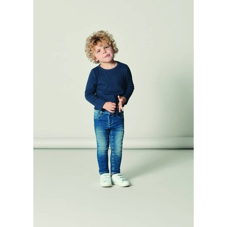 Name It Name It spijkerbroek Theo Tobias medium blue denim