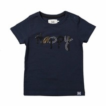T-shirt happy navy