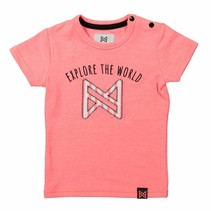 T-shirt neon peach