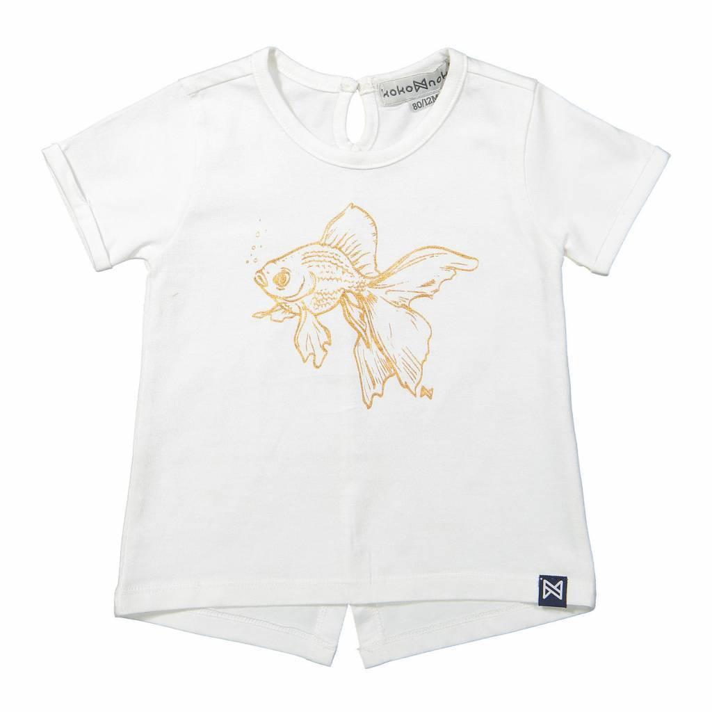 Koko Noko Koko Noko T-shirt white