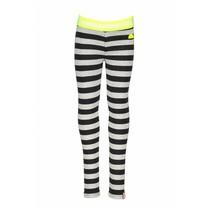 Legging y/d stripe grey melee/black