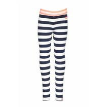 Legging y/d stripe midnight/ white