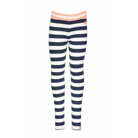 B.Nosy B.Nosy legging y/d stripe midnight/ white