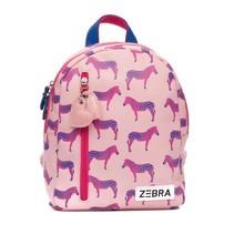Rugzak (S) Zebra pink