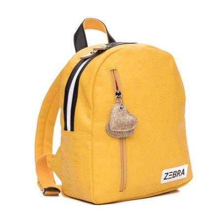 Zebra Trends Zebra Trends rugzak (S) Love yellow