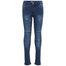 Spijkerbroek Polly Teona dark blue denim