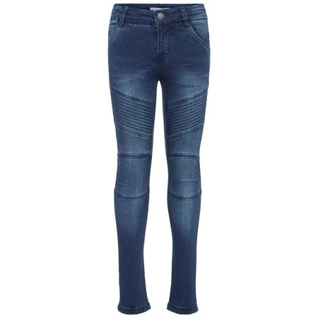 Name It Name It spijkerbroek Polly Teona dark blue denim