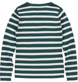 Levv Levv longsleeve Bella emerald green stripe