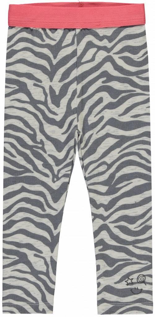 Quapi Quapi legging Rianne 1 grey zebra