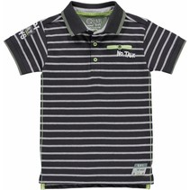 Polo Sander grey stripe