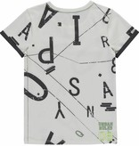 Quapi Quapi T-shirt Samson off white letters