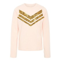 Longsleeve Barbara strawberry cream