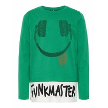 Longsleeve Happy medium green