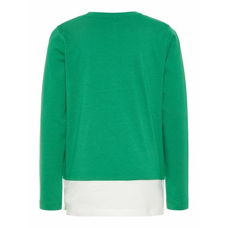 Name It Name It longsleeve Happy medium green