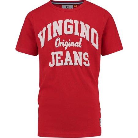 Vingino Vingino T-shirt Halver flame red
