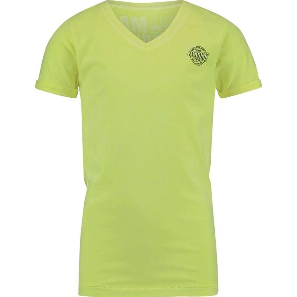 Vingino Vingino T-shirt Hanoch neon yellow