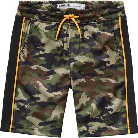 Vingino Vingino korte broek Ravano camouflage green