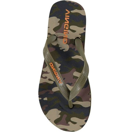 Vingino Vingino slippers Rens army all-over
