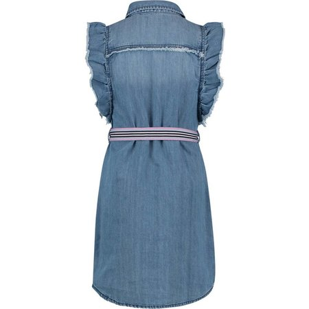 Vingino Vingino jurk Perlisse light denim blue