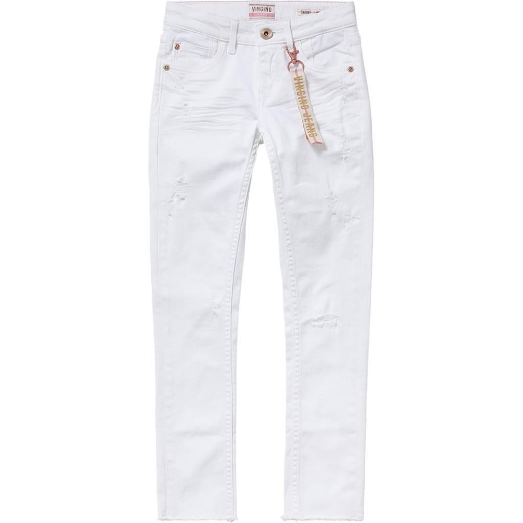 Vingino Vingino spijkerbroek Amolia white denim