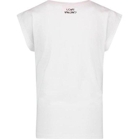 Vingino Vingino T-shirt Hanoes real white