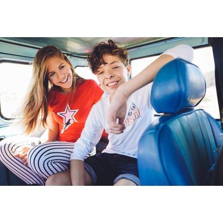 Vingino Vingino T-shirt Heska red lollipop