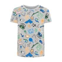 T-shirt Bassen grey melange