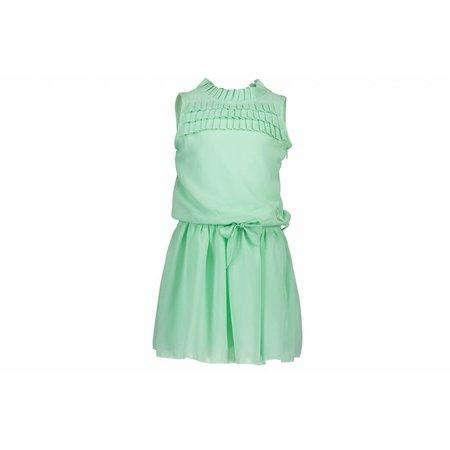 Le Chic Le Chic jurk plissee al chest misty green