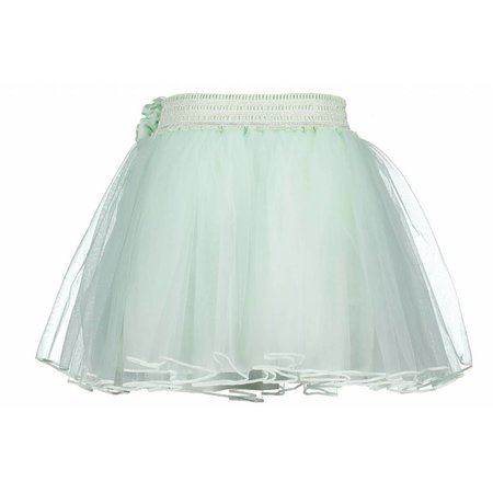Le Chic Le Chic rokje petticoat flower at waist misty green