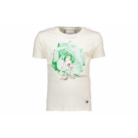 Le Chic Le Chic T-shirt rose tutu misty green