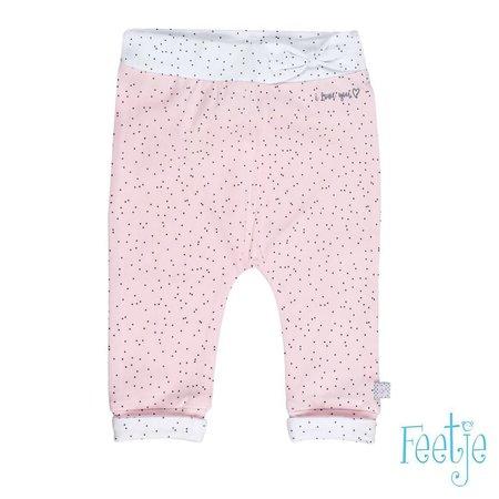 Feetje Feetje broekje aop all of me roze