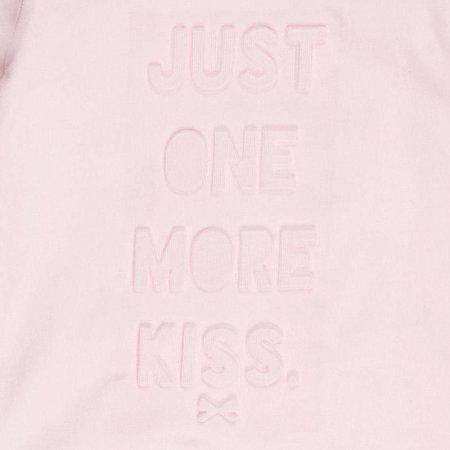 Feetje Feetje longsleeve one more kiss all of me roze