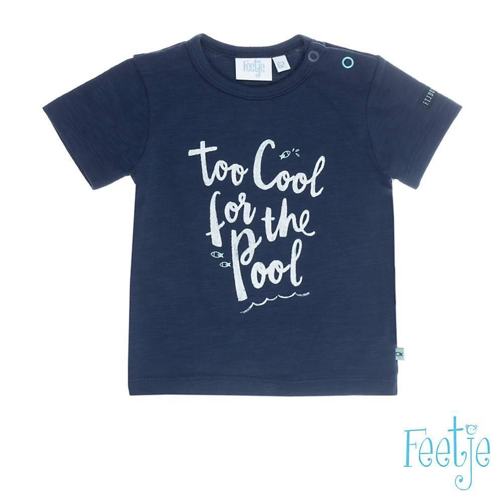 Feetje Feetje T-shirt too cool ocean life marine