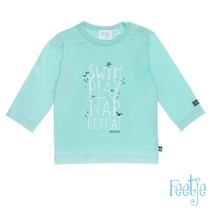 Longsleeve swim play ocean life mint