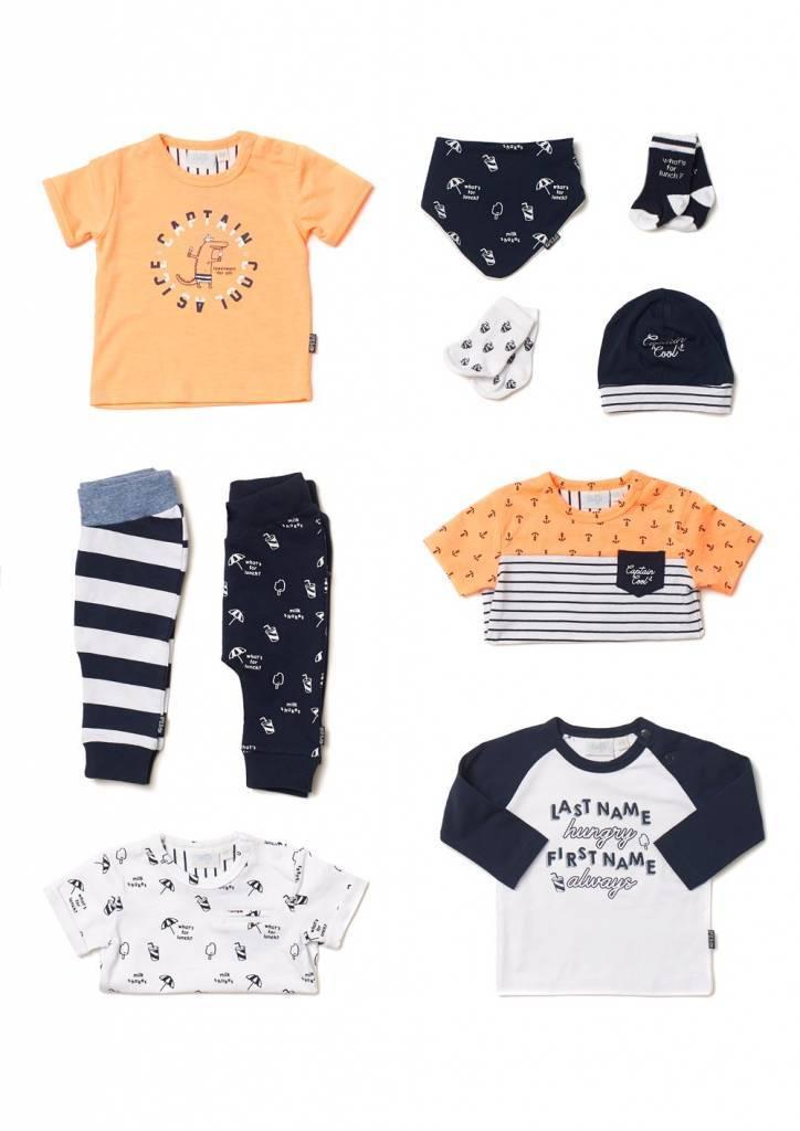2c9383b94ab2ac Feetje T-shirt captain cool neon oranje | Hippe Mensjes
