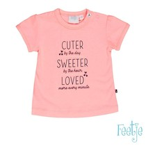 T-shirt cuter sweeter cherry sweet roze