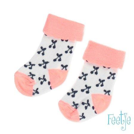Feetje Feetje sokjes cherry sweet roze