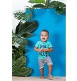 Feetje Feetje T-shirt mr. blue scuba aqua