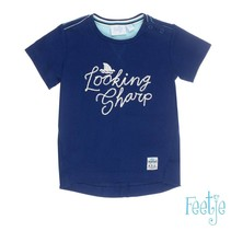 T-shirt looking sharp scuba indigo
