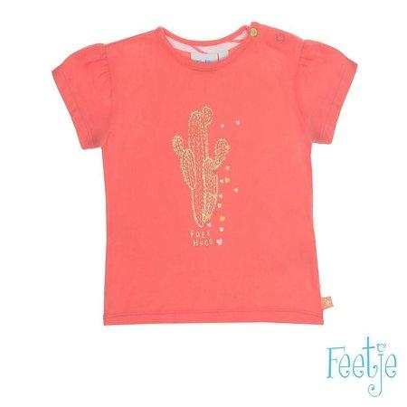 Feetje Feetje T-shirt La isla koraal