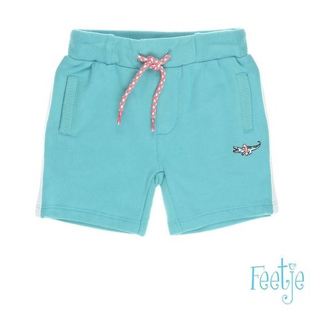 Feetje Feetje short uni pool party mint