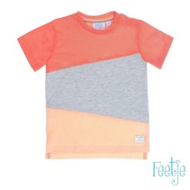 T-shirt panels pool party neon oranje