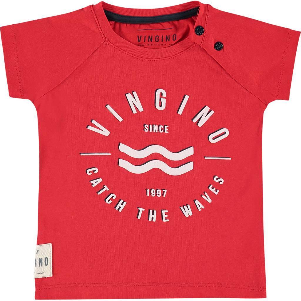 Vingino Vingino T-shirt Huck flame red