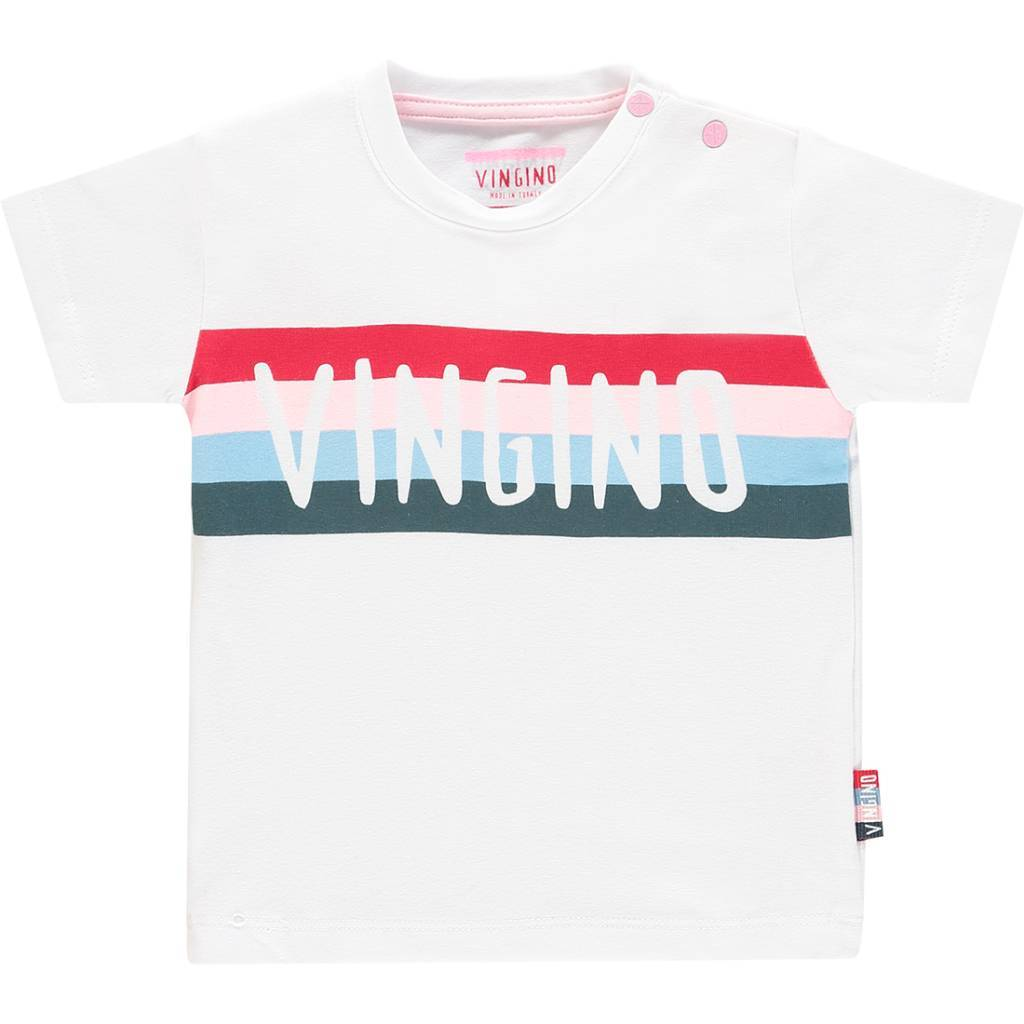 Vingino Vingino T-shirt Hawi real white