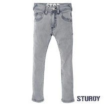 Spijkerbroek grey slim fit denim