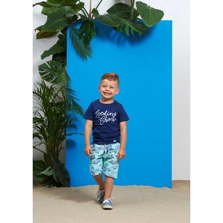 Feetje Sturdy T-shirt looking sharp scuba indigo
