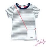 Jubel Jubel T-shirt streep sea view
